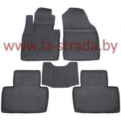 Новое поступление: модельные ковры SRTK в салон автомобиля